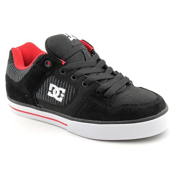 DC Boy's 'Pure XE' Leather Athletic Shoe