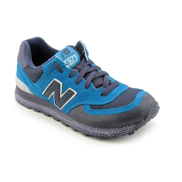 New Balance Men's 'ML574' Regular Suede Casual Shoes