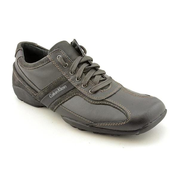 Calvin Klein Men's 'Ben' Leather Casual Shoes