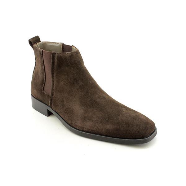 18a91540544a Shop Calvin Klein Men's 'Galen' Regular Suede Boots - Free Shipping ...