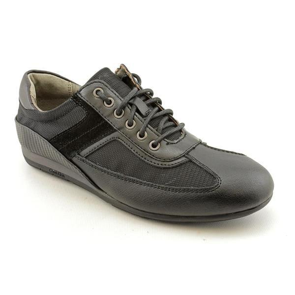 Calvin Klein Men's 'Kaleb' Leather Athletic Shoe