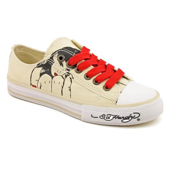 Ed Hardy Women's 'Lowrise Bela' Canvas Casual Shoes
