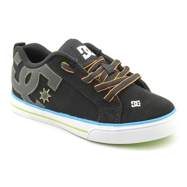 DC Boy's 'Court Graffik Vulc' Nubuck Athletic Shoe