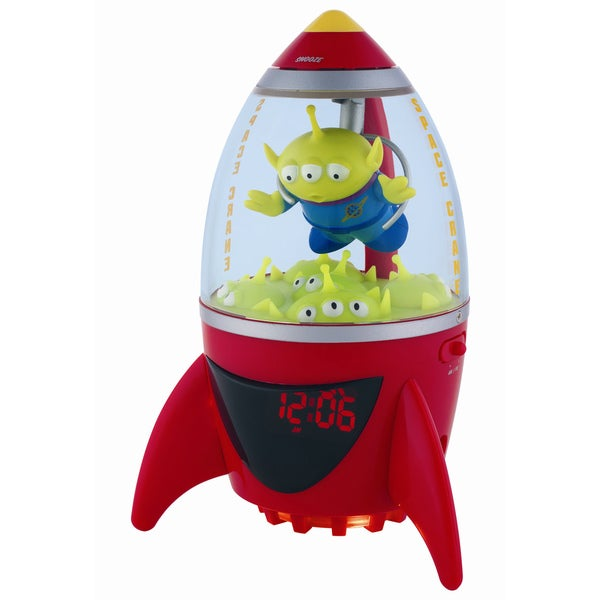 Disney Toy Story Aliens Alarm Clock Radio