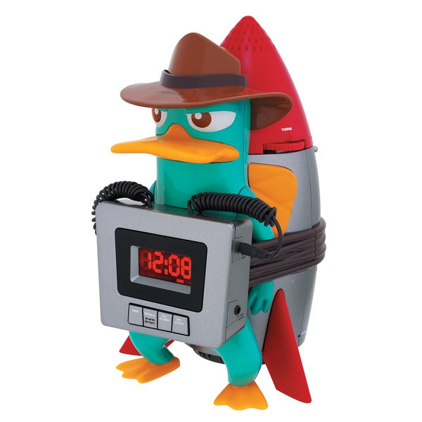 Disney Phineas and Ferb Alarm Clock Radio