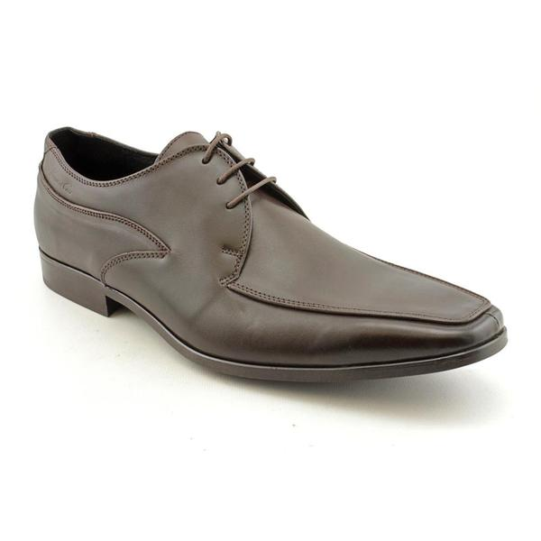 Kenneth Cole NY Men's 'Even The Score' Leather Dress Shoes (Size 13)