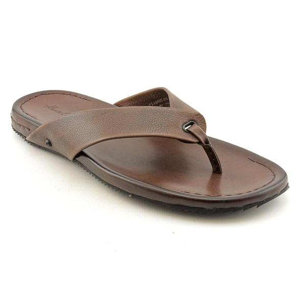 f931334a09edc5 Shop Kenneth Cole NY Men s  It s A Breeze  Leather Sandals (Size 13 ...