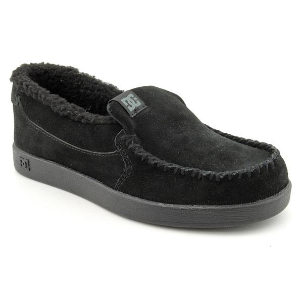 DC Boy's 'Villain LE' Regular Suede Casual Shoes (Size 5)