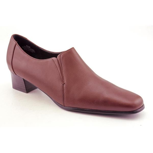 David Tate Women's 'Sport' Leather Dress Shoes - Extra Wide (Size 10)