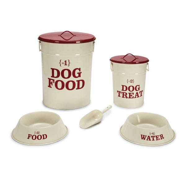 Pet Studio No.1 Dog Dining Cream Collection
