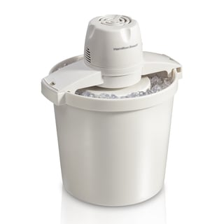 Hamilton Beach 4 Quart Capacity Ice Cream Maker