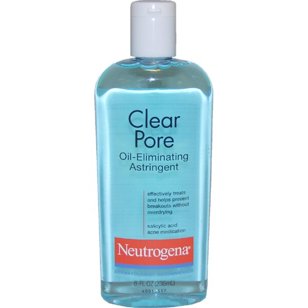 Neutrogena Clear Pore 8-ounce Oil-Eliminating Astringent