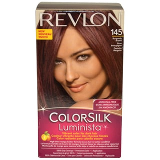 Revlon Colorsilk Luminista #145 Burgundy Brown Hair Color (1 Application)