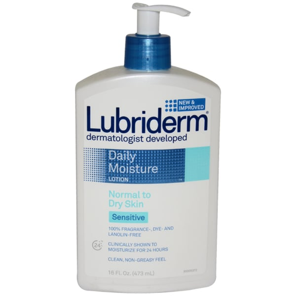 Lubriderm Daily Moisture for Sensitive Skin 16-ounce Lotion