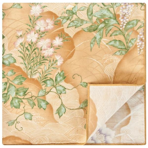 Rose Tree Wisteria Gold Napkins (Set of 6)