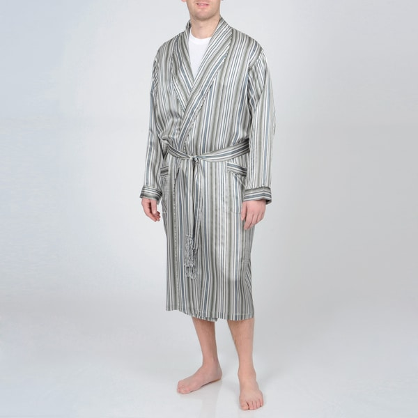 Majestic Sterling Men's Silk Robe