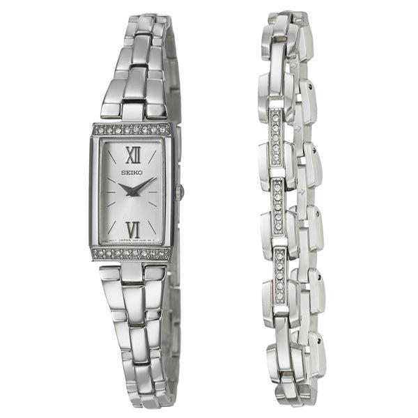 Seiko Women's Stainless Steel Bracelet Watch