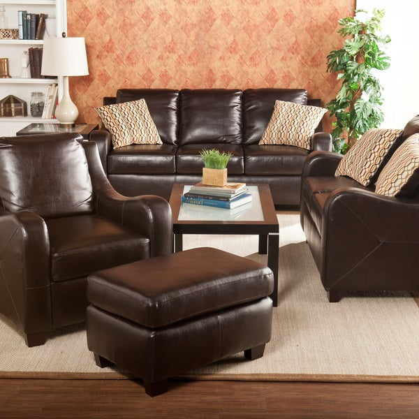 Harper Blvd Claymore Chocolate 4-piece Sofa Set