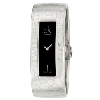 Calvin Klein Women's Stainless-Steel 'Instinctive' Bangle Watch