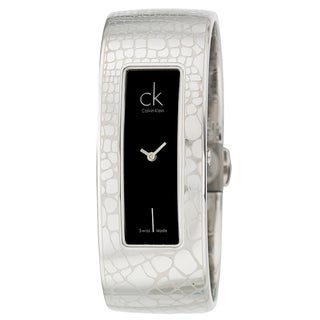 Calvin Klein Women's Stainless-Steel 'Instinctive' Bangle Watch
