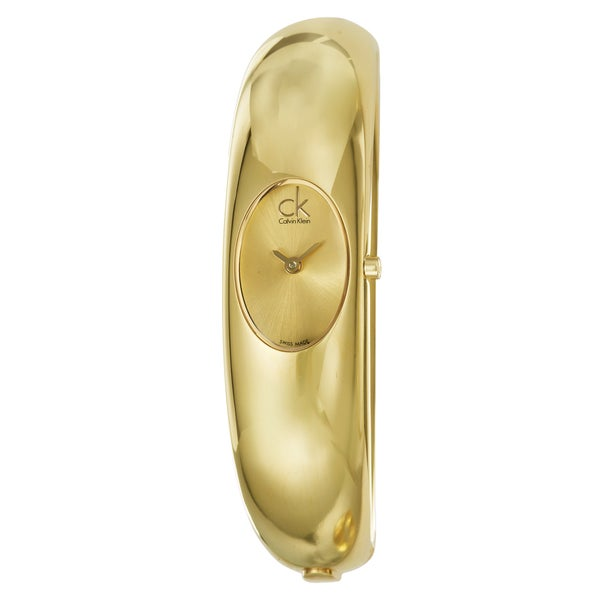 Calvin Klein Women's Goldplated Steel 'Exquisite' Watch