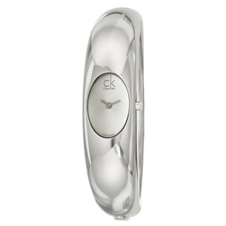 Calvin Klein Women's Stainless Steel 'Exquisite' Watch|https://ak1.ostkcdn.com/images/products/7508923/7508923/Calvin-Klein-Womens-Stainless-Steel-Exquisite-Watch-P14949654.jpeg?_ostk_perf_=percv&impolicy=medium