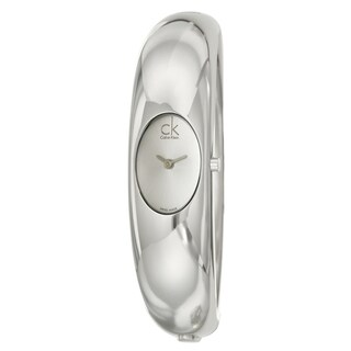 Calvin Klein Women's Stainless Steel 'Exquisite' Watch