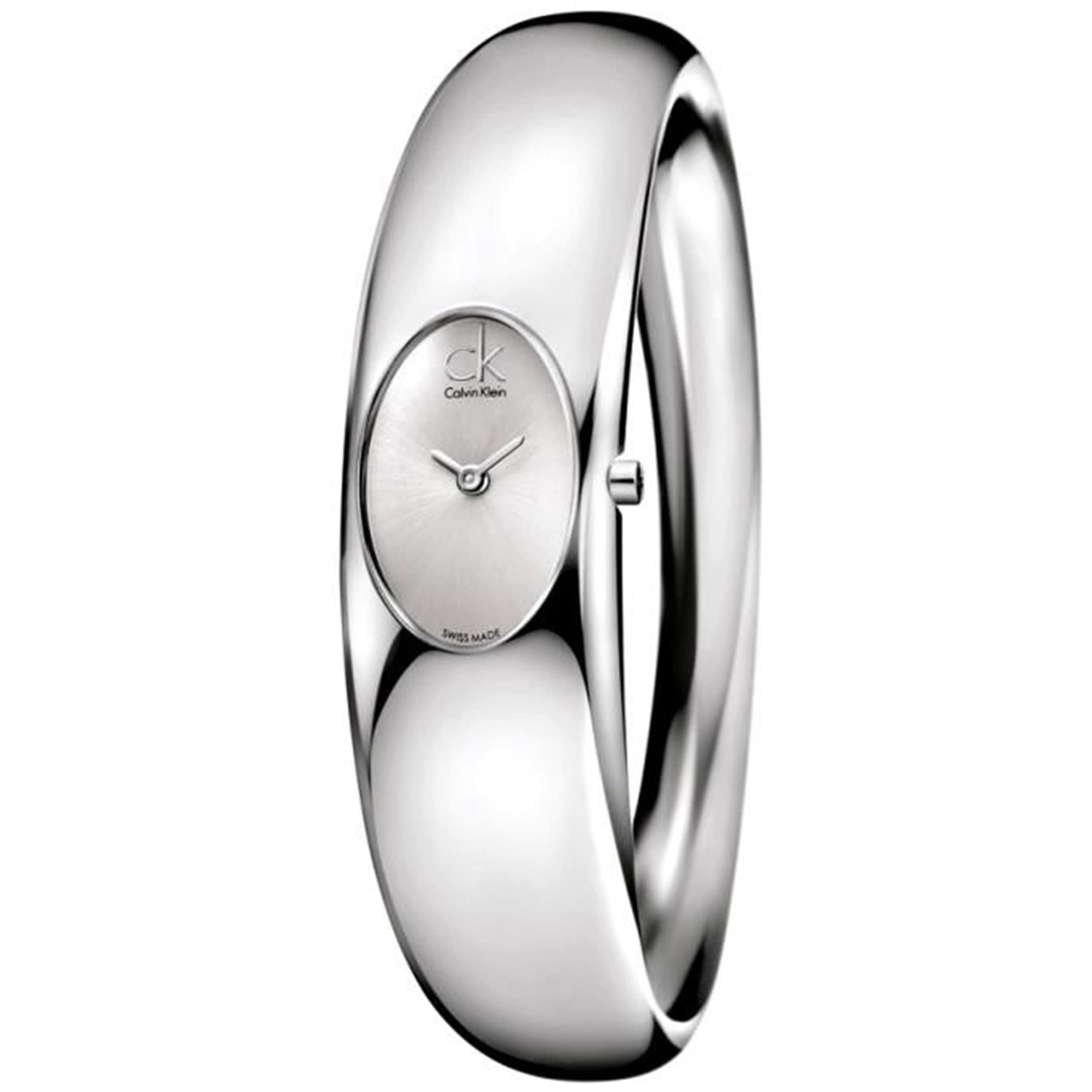 Calvin Klein Women's Stainless Steel 'Exquisite' Watch, S...