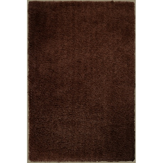 Hand-woven Fossil Soft Shag Rug