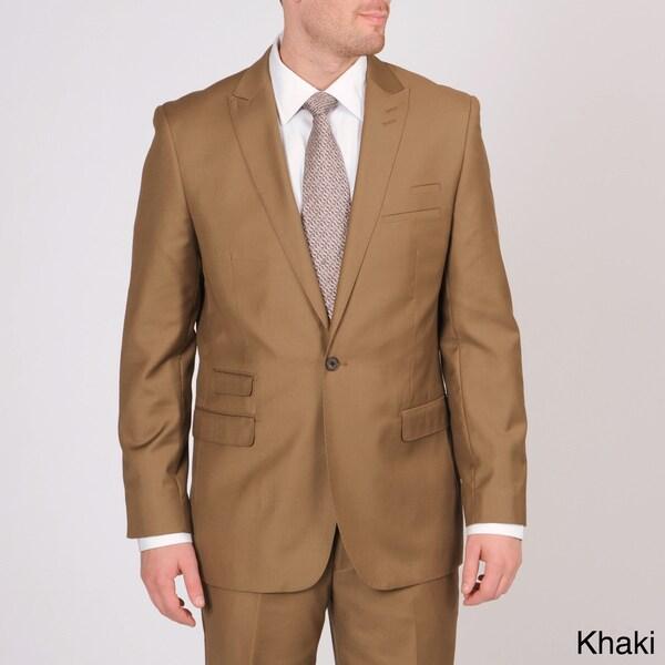 Martin Gordon Men's Slim Fit Single-button Suit