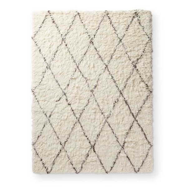 nuLoom Handmade Moroccan-style New Zealand Wool Shag Rug