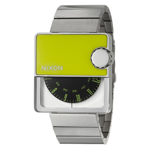 Nixon Men's Stainless-Steel 'Murf' Rotolog Quartz Watch