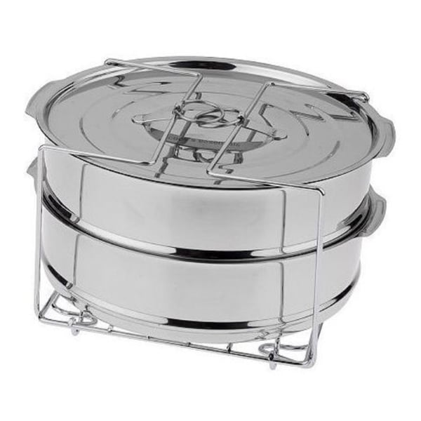 Cook's Essentials Pressure Cooker Stainless Steel Round Dessert Pans