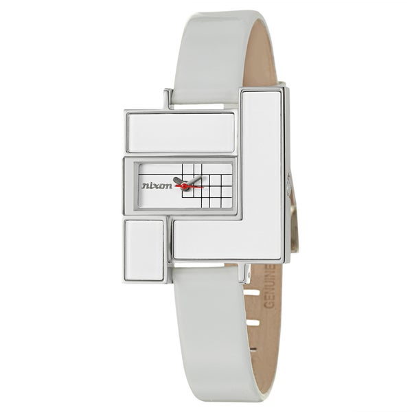 Nixon Women's Stainless-Steel 'Loft' Watch with White Dial and Strap