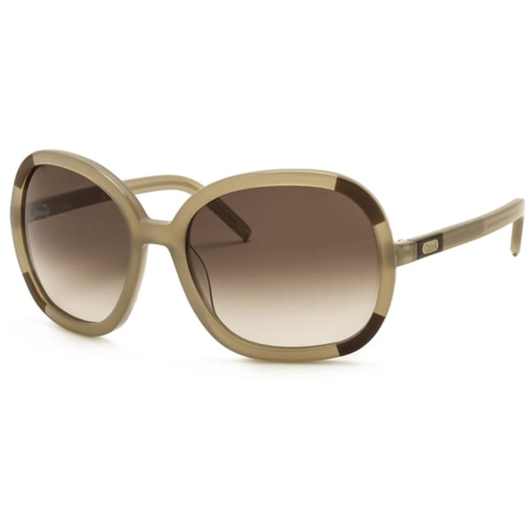 a6c0bc5f16917 Shop Chloe Women s  Abelie  Mink Fashion Sunglasses - Free Shipping Today -  Overstock - 7509175