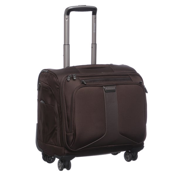 Biaggi Tecno Collection Foldable 16-inch Carry On Spinner Weekender Upright Tote