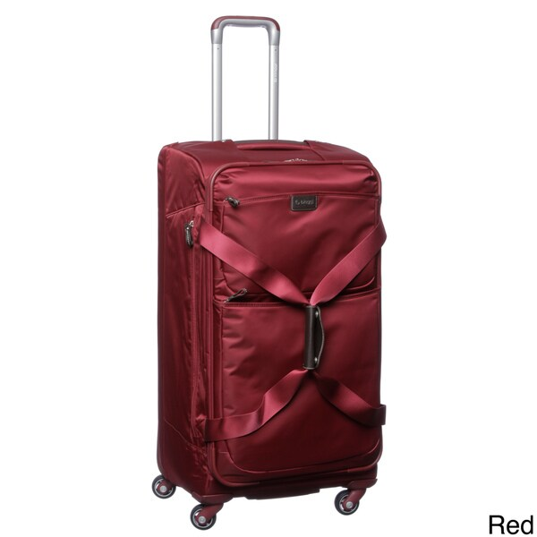 Biaggi 210731 Contempo Collection Foldable 31-inch Spinner Upright Duffel Bag