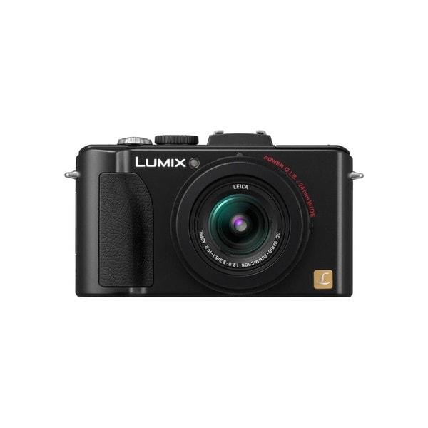 Panasonic Lumix DMC-LX5 10.1MP Black Digital Camera