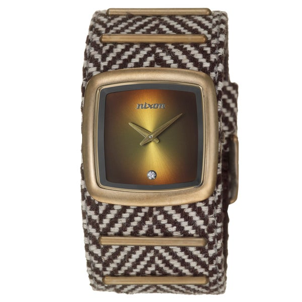 Nixon Men's Antique Coppertone Steel 'Duke' Watch