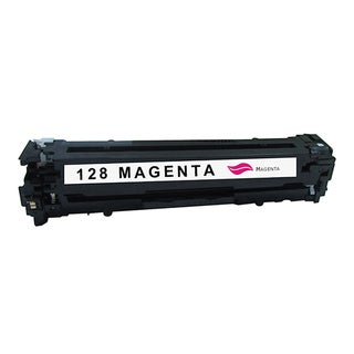 HP 128A Compatible Magenta Toner Cartridge for Hewlett Packard CE323A (Remanufactured)