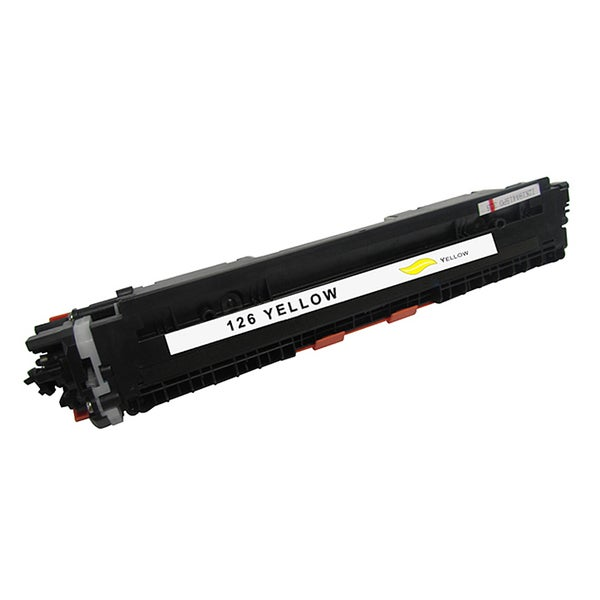 HP 126A Compatible Yellow Toner Cartridge for Hewlett Packard CE312A (Remanufactured)