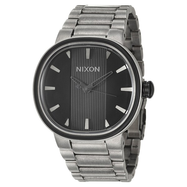 Nixon Men's Stainless Steel and Plastic 'Capital' Watch