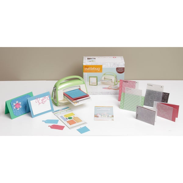 Cricut Cuttlebug Mega Bundle Machine