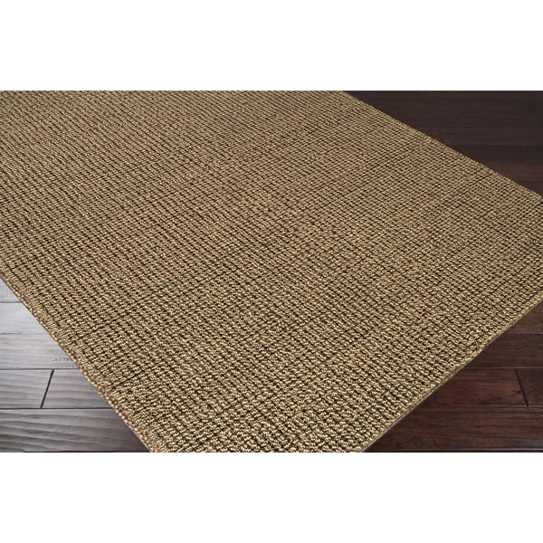 Shop Hand Woven Casual Solid Colored Alpson Wool Area Rug