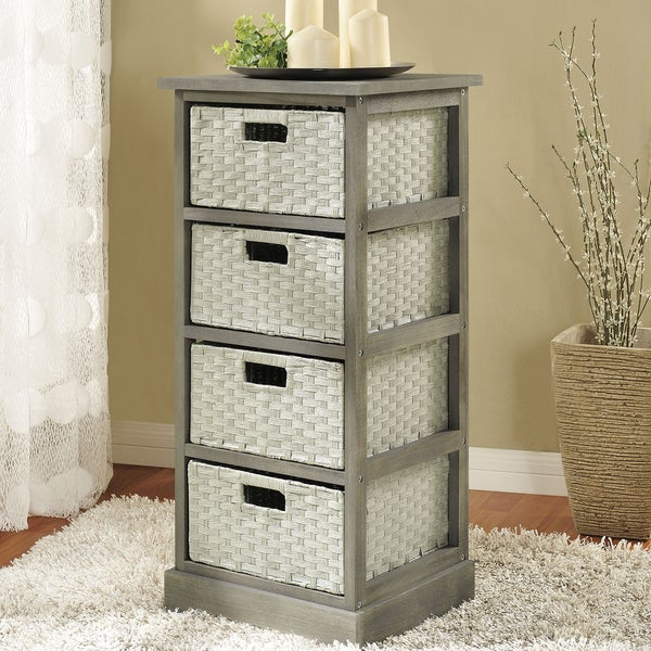 Altra Storage Unit with 4 Baskets