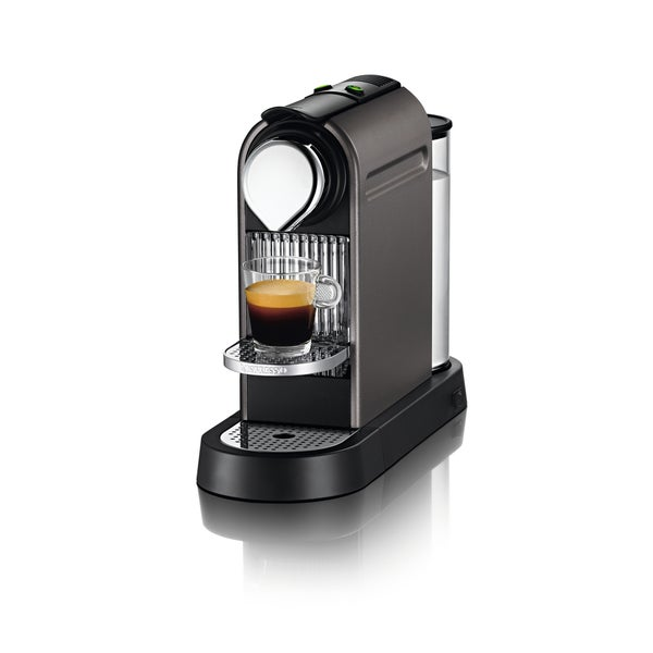 Nespresso CitiZ C110 Titanium Espresso Maker (Refurbished)