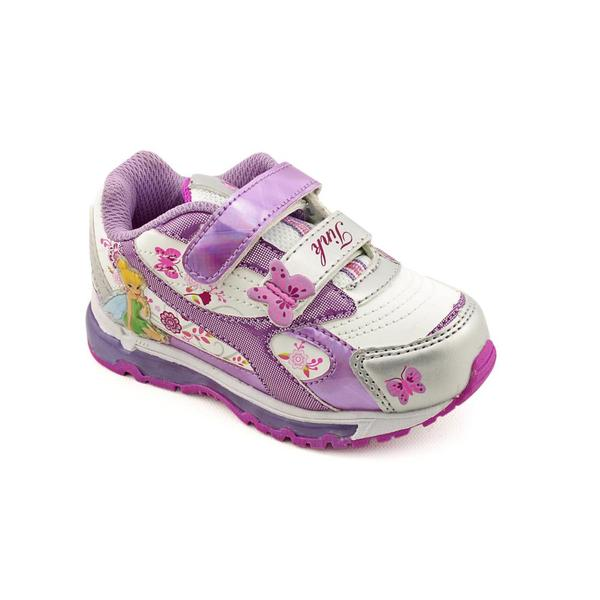 Disney Fairies Girl's 'Lighted Tinkerbell Hearts' Synthetic Casual Shoes