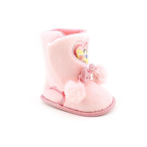 Disney Princess Girl's 'Fur Tie Booties' Polyester Casual Shoes