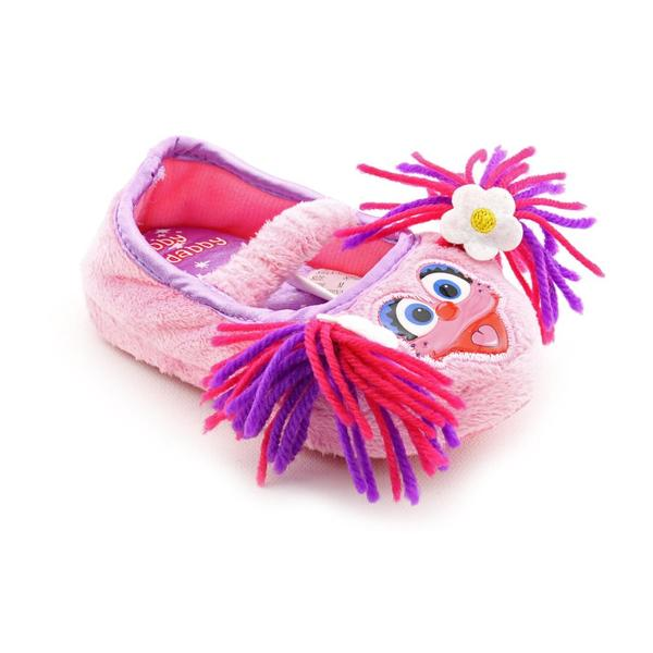 Sesame Street Girl's 'Abby Cadabby Slippers' Polyester Casual Shoes