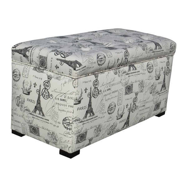 Sole Designs Angela Paris Match Onyx Storage Trunk